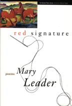 Mary Leader's red signature